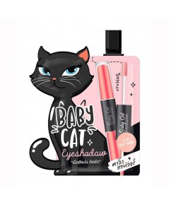 CHY BABY CAT Eyeshadow ตาวิ๊ง สวยเวอร์ NO.01 HOT PINK (1 ซอง) ราคาส่งถูกๆ W.25 รหัส ES555