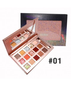 HOJO Dazzling Eyeshadow Plate NO.01 ราคาส่งถูกๆ W.240 รหัส ES129