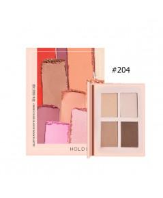 HOLD LIVE Cheek Color Shadow Book Palette NO.404 ราคาส่งถูกๆ W.120 รหัส ES255-4