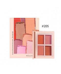 HOLD LIVE Cheek Color Shadow Book Palette NO.205 ราคาส่งถูกๆ W.120 รหัส ES255-5