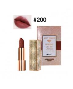 HOJO Soft Touch Diamond Glitter Lipstick No.200 ราคาส่งถูกๆ W.80 รหัส L356-3