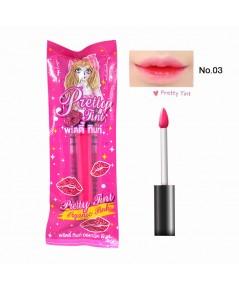 Pretty Tint พริตตี้ ทินท์ พริตตี้เกิร์ล No.03 Organic Pink ราคาส่งถูกๆ W.35 รหัส L77-3