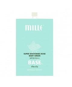 Mille Super Whitening Rose Baby Green Base เบสเขียว (ขายเป็นซอง) ราคาส่งถูกๆ W.25 รหัส S61