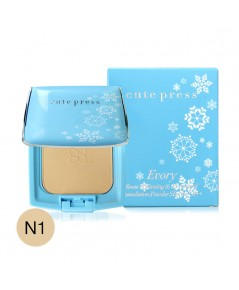 Cute Press EVORY Snow Whitening  Oil Control Foundation SPF 30 PA++ N1 w.55 รหัส MP497-1