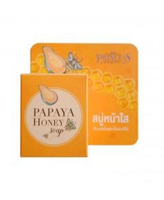 New Princess Papaya Honey Soap สบู่มะละกอน้ำผึ้ง หน้าใส ราคาส่งถูกๆ W.85 รหัส FC88