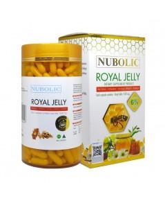 Nubolic Royal Jelly 1500 mg. นูโบลิก รอยัล เจลลี่ ปุกใหญ่ 365 เม็ด ราคาส่งถูกๆ W.750 รหัส GU16