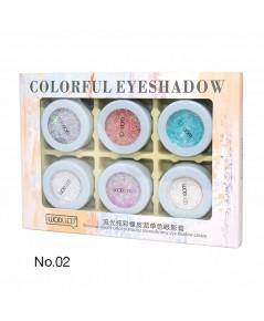 wodwod Colorful Eyeshadow Cream NO.02 ราคาส่งถูกๆ W.130 รหัส ES71-2
