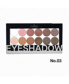 OD210 odbo Eyeshadow โอดีบีโอ อายแชโดว์ NO.03 ราคาส่งถูกๆ W.105 รหัส ES401-3