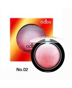 Odbo Gradiente Blush โอดีบีโอ กราเดียนเต้ บลัช เบอร์ 02 ราคาส่งถูกๆ W.85 รหัส BO38-2