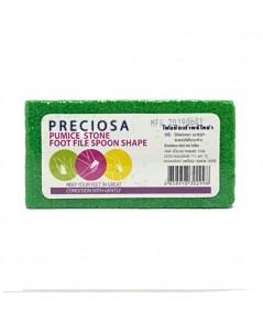 โฟมขัดเท้า พรีโคซ่า Preiosa Pumice Stone Foot File Spoon Shape PS152 ราคาส่งถูกๆ W.25 รหัส EM702