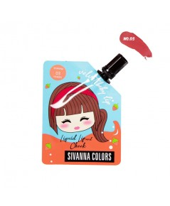 Sivanna Colors Velvet Baby Lip Liquid Lip and Cheek HF4032 No.03 ราคาส่งถูกๆ W.35 รหัส L980