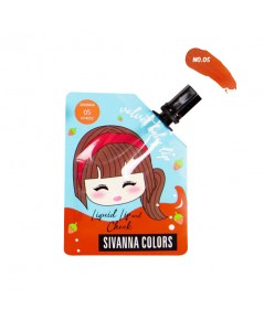 Sivanna Colors Velvet Baby Lip Liquid Lip and Cheek HF4032 No.05 ราคาส่งถูกๆ W.35 รหัส L982
