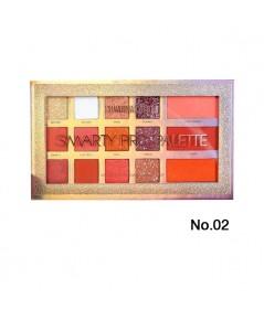 Sivanna Colors Smarty Pro Palette HF5027 No.02 ราคาส่งถูกๆ W.170 รหัส ES546