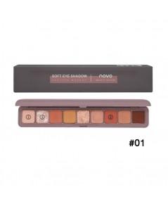 novo Soft eye Shadow Lasting Makeup No.01 ราคาส่งถูกๆ W.105 รหัส ES560-1