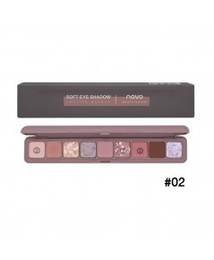 novo Soft eye Shadow Lasting Makeup No.02 ราคาส่งถูกๆ W.105 รหัส ES560-2