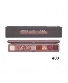 novo Soft eye Shadow Lasting Makeup No.03 ราคาส่งถูกๆ W.105 รหัส ES560-3