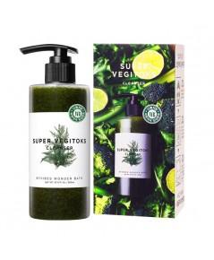 Wonder Bath Super Vegitoks Cleanser [Green] 300 ml ราคาส่งถูกๆ W.400 รหัส FC43