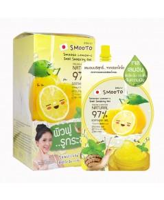 Smooto Lemon-C Snail Soothing Gel แบบซอง (ขายเป็นกล่อง) W.370 รหัส S06