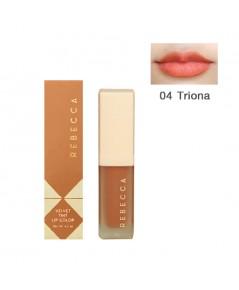 Rebecca velvet tint lip color รีเบคก้า เวลเวท ทินท์ ลิป คัลเลอร์ No.04 ราคาส่งถูกๆ W.35 รหัส L910-4