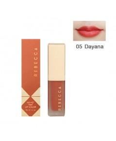 Rebecca velvet tint lip color รีเบคก้า เวลเวท ทินท์ ลิป คัลเลอร์ No.05 ราคาส่งถูกๆ W.35 รหัส L910-5