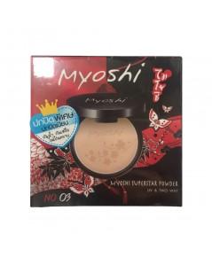 Myoshi ปกปิดพิเศษ ปกปิดเนียน กันน้ำ กันเหงื่อ ไม่เป็นคราบ No.03 w.85 รหัส MP620