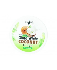Gluta white coconut lotion โลชั่นกลูต้ามะพร้าวนายหญิง 300กรัม W.400 รหัส.BD 660