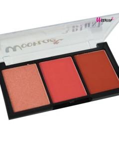 Woonae 3 colors blush บลัชออน No.1 W.80 รหัส.BO598