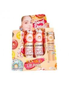 Lipbalm Tanako Lip Pink Thailand Sweet Donuts W.50 รหัส. L1021