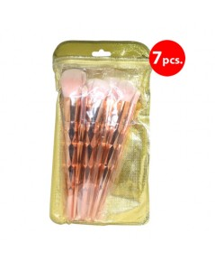 ชุดแปรงด้ามทอง 6 ชิ้น Brush Set 6 Pcs ราคาส่งถูกๆ W.80 รหัส EM330_Copy