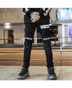 กางเกงยีนส์สีดำ รุ่น Black Street Jean