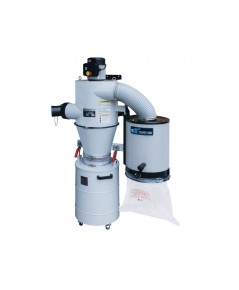 PORTABLE DUST CYCLONE WITH MANUAL CANISTER CLEANING SYSTEM-UB-2000W