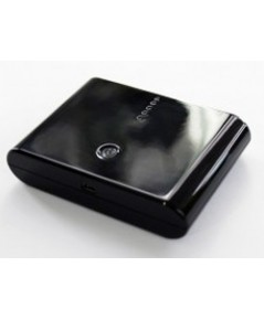 แบตเตอรี่สำรอง (ความจุ 10000 mAh) สำหรับ (MP3) สีดำ
