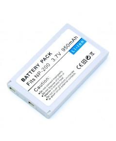 แบตเตอรี่ สำหรับ Minalta รหัสแบตเตอรี่ NP200+ ความจุ 950mAh (Battery Camera)