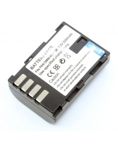 แบตเตอรี่ สำหรับกล้อง Panasonic รหัสแบตเตอรี่ BLF19+ ความจุ 2200mAh (Battery Camera)