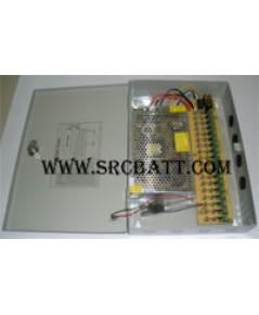 CCTV Power Supply สำหรับกล้องวงจรปิด และอื่นๆ 12V/30A (18 ช่อง)