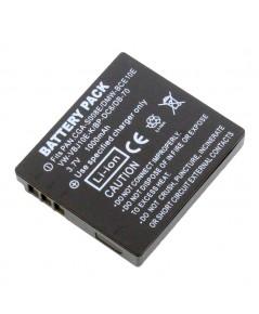 แบตเตอรี่ สำหรับกล้อง Panasonic รหัสแบตเตอรี่ S008+ ความจุ 1000mAh (Battery Camera)