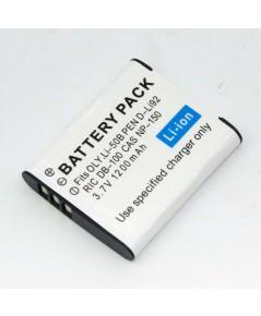 แบตเตอรี่ สำหรับกล้องดิจิตอล Ricoh รหัสแบตเตอรี่ DB-100+ความจุ 1200mAh (Battery Camera)