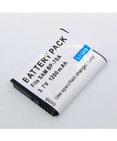 แบตเตอรี่ สำหรับกล้องดิจิตอล Samsung รหัสแบตเตอรี่ BP70A+ ความจุ 1200mAh (Battery Camera)