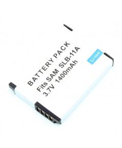 แบตเตอรี่ สำหรับกล้องดิจิตอล Samsung รหัสแบตเตอรี่ SLB-11A+ ความจุ 1400mAh (Battery Camera)