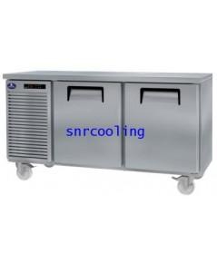 ตู้แช่เคาน์เตอร์สแตนเลส ยี่ห้อ Sanden Intercool รุ่น SCR2-1506AR (325 ลิตร) แช่เย็น