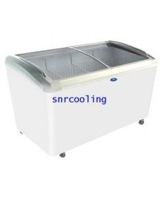 ตู้แช่แข็ง ฝากระจกโค้ง ยี่ห้อ Sanden Intercool รุ่น SNC-0515 (520 ลิตร /18.4 คิว)