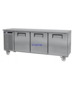 ตู้แช่เคาน์เตอร์สแตนเลส ยี่ห้อ Sanden Intercool รุ่น SCR2-1806AR (420 ลิตร) แช่เย็น