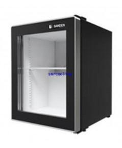ตู้แช่เย็น กระจก 1 ประตู Sanden Intercool รุ่น SPE-0055 Frameless (1.76 คิว) สีดำ