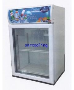 ตู้แช่เย็น กระจก 1 ประตู Sanden Intercool รุ่น SPA-0073 (2.6 คิว)