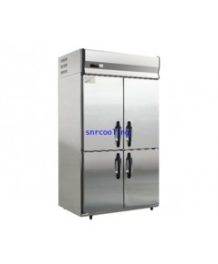 ตู้แช่สแตนเลส ฝาทึบ 4 ประตู (เกรด 443) ยี่ห้อ Panasonic รุ่น SRR-1281HP(E) (1,080 ลิตร) แช่เย็น