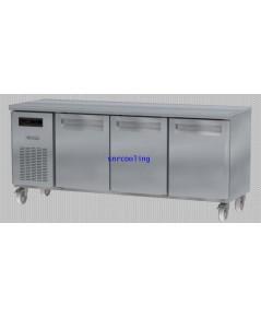 ตู้แช่เคาน์เตอร์สแตนเลส ยี่ห้อ Sanden Intercool รุ่น  SCR3-1807AR (540 ลิตร) แช่เย็น