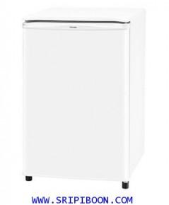ตู้เย็น มินิบาร์ โตชิบ้า TOSHIBA  GR-A906ZI (สีขาว NW, สีเทา I) ตู้เย็นหอพัก-ห้องนอน ขนาด 3.1 คิว