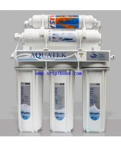 เครื่องกรองน้ำ AQUATEK อควอเท็ค แบบ 5 ขั้นตอน ระบบ UF (Silver)