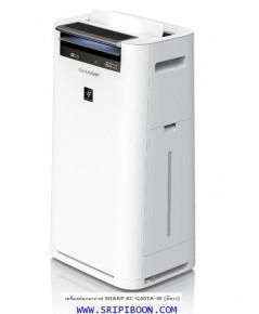 เครื่องฟอกอากาศ SHARP ชาร์ป + Plasmacluster KC-G40TA-W สีขาว - 28 ตร.ม ส่งด่วนฟรี!.โทร.081-6674605