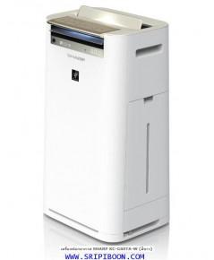 เครื่องฟอกอากาศ SHARP ชาร์ป + Plasmacluster KC-G60TA-W สีขาว - 50 ตร.ม.ส่งด่วนฟรี!.โทร.081-6674605
